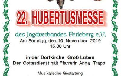 22. Hubertusmesse